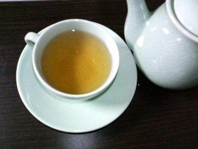 今日は紅茶。